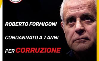 Formigoni condannato a 7 anni per corruzione