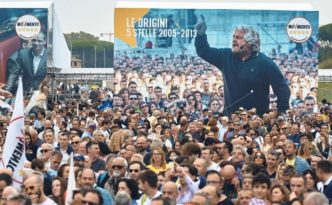 Circo Massimo Roma Italia 5 stelle 2018