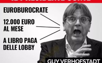 Verhofstadt offende Conte