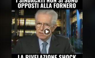 Mario Monti Sindacati
