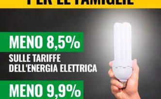 Bollette meno care Gas Elettricità