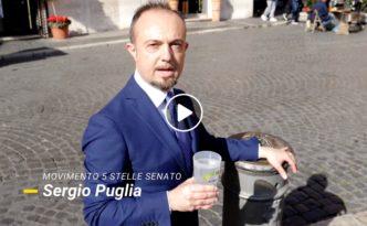 Sergio Puglia M5S Acqua Pubblica