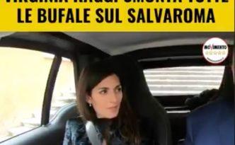 Virginia Raggi Bufale Salva Roma