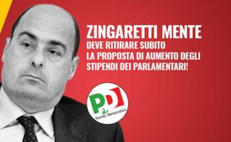 Zingaretti mente